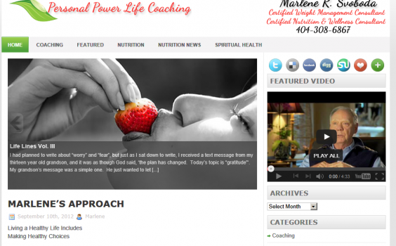Personal Power Life Coaching